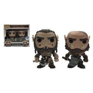 Warcraft Pop! Vinyl Figure Durotan and Orgrim [2-pack]
