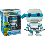 Teenage Mutant Ninja Turtles Pop! Vinyl Figures Grayscale Leonardo [63] - Fugitive Toys