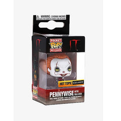 It Pocket Pop! Keychain Metallic Pennywise with Balloon (Hot Topic Exclusive) - Fugitive Toys