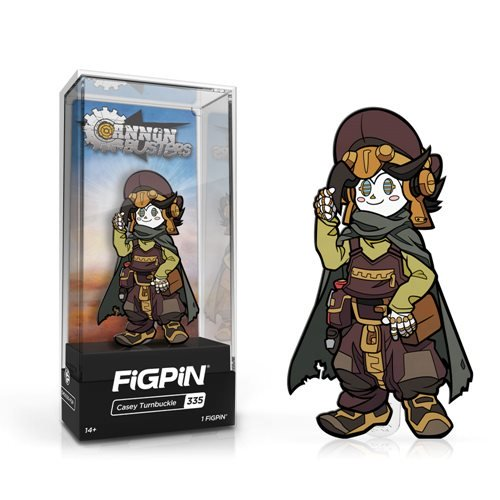 Cannon Busters: FiGPiN Enamel Pin Casey Turnbuckle [335]