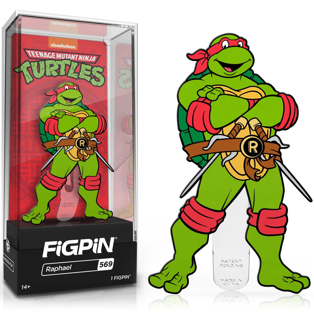 Teenage Mutant Ninja Turtles: FiGPiN Enamel Pin Raphael [569]