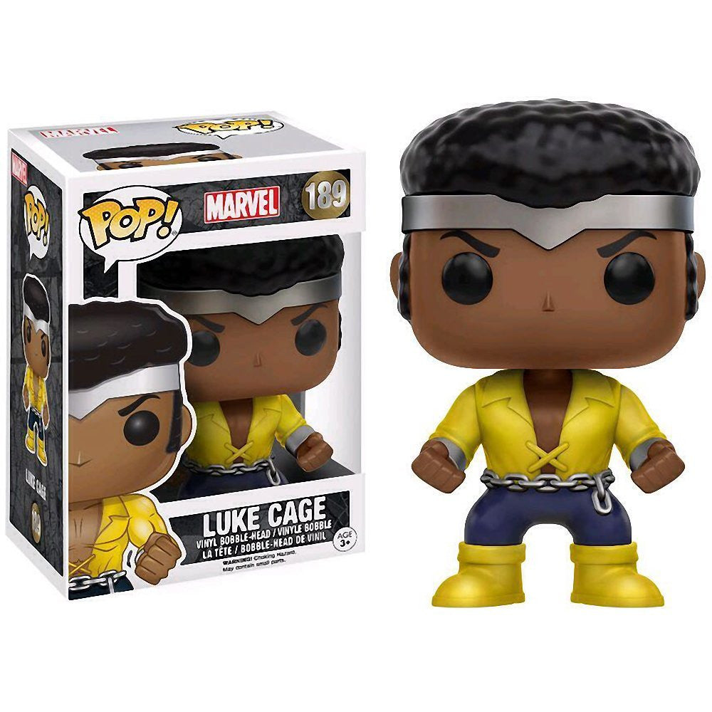 Marvel Pop! Vinyl Figure Luke Cage [Previews Exclusive]