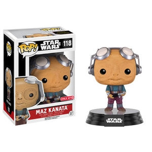 Star Wars Pop! Vinyl Figure Maz Kanata (Goggles Up) [118]