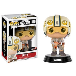 Star Wars Pop! Vinyl Figure Rey (X-Wing Helmet) [119]