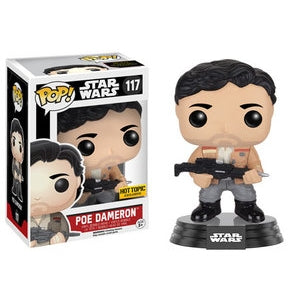 Star Wars Pop! Vinyl Figure Poe Dameron (Jacket & Blaster) [117]