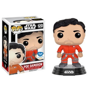 Star Wars Pop! Vinyl Figure Poe Dameron (X-Wing Jumpsuit) [120]
