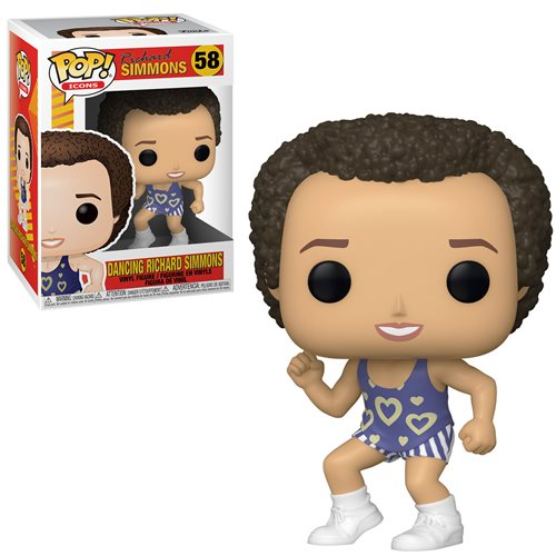 Icons Pop! Vinyl Figure Dancing Richard Simmons [58]