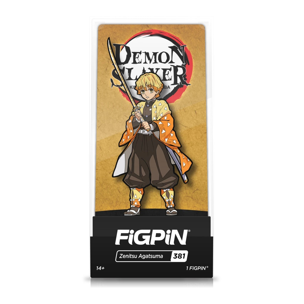 Demon Slayer: FiGPiN Enamel Pin Zenitsu Agatsuma [381]