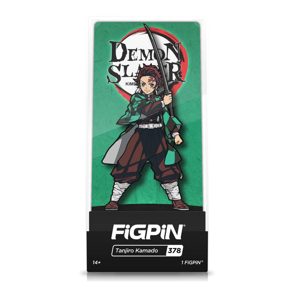 Demon Slayer: FiGPiN Enamel Pin Tanjiro Kamado [378]