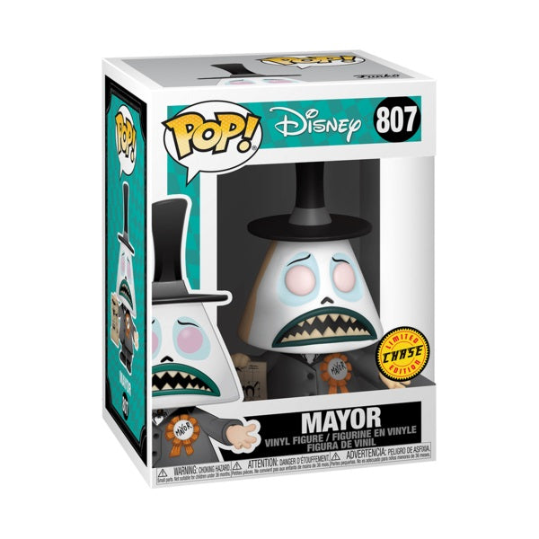 The Nightmare Before Christmas Pop! Vinyl Figure Mayor With Megaphone (Chase) [807]