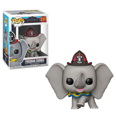 Disney Pop! Vinyl Figure Fireman Dumbo [511]
