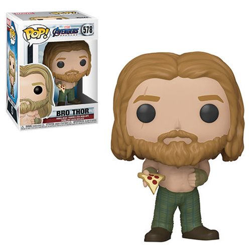 Avengers Endgame Pop! Vinyl Figure Bro Thor with Pizza [578]