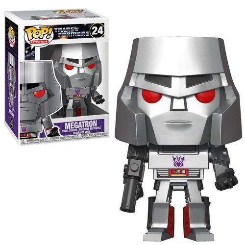 Transformers Retro Toys Pop! Vinyl Figure Megatron [24]