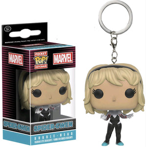Marvel Pocket Pop! Keychain Spider-Gwen (Unhooded)