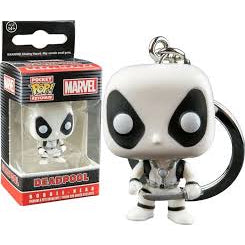 Marvel Pocket Pop! Keychain Deadpool (White)