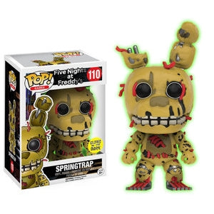 Five Nights at Freddy's Pop! Vinyl Figure Springtrap (Glow In The Dark) [110]