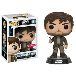 Star Wars Pop! Vinyl Figures Brown Jacket Captain Cassian Andor [151]