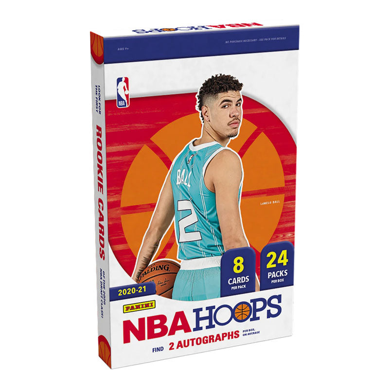 2020-21 Panini NBA Hoops Basketball Hobby Box