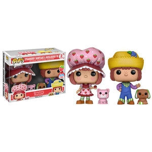 Strawberry Shortcake Pop! Vinyl Figure Strawberry Shortcake and Huckleberry Pie [NYCC 2016] [2-pack]