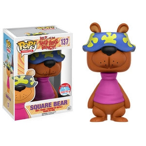 Help! It's The Hair Bear Bunch! Pop! Vinyl Figure Square Bear (NYCC 2016 Exclusive) [137]