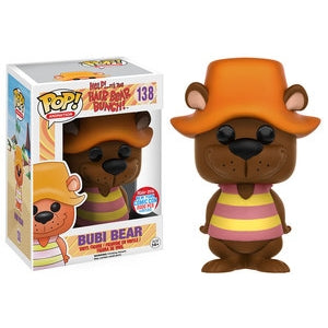 Help! It's The Hair Bear Bunch! Pop! Vinyl Figure Bubi Bear (NYCC 2016 Exclusive) [138]