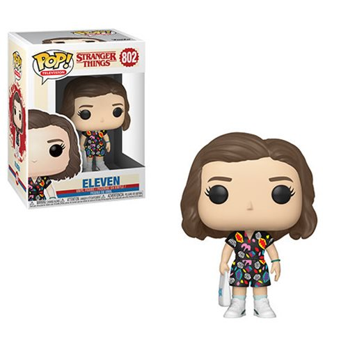 Stranger Things Pop! Vinyl Figure Eleven in Mall Outfit [802]
