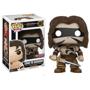Conan The Barbarian Pop! Vinyl Figures War Paint Conan The Barbarian [381]
