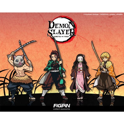 Demon Slayer: FiGPiN Enamel Pin Set of 4