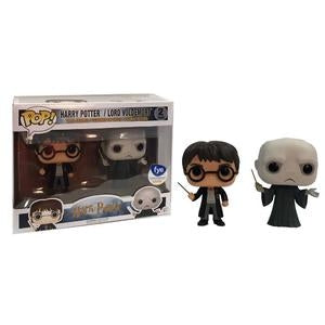 Harry Potter Pop! Vinyl Figure Harry Potter and Lord Voldemort [2-pack] - Fugitive Toys