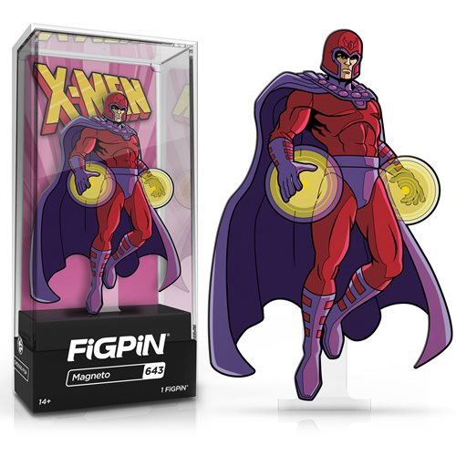 Marvel X-Men The Animated Series: FiGPiN Enamel Pin Magneto [643]