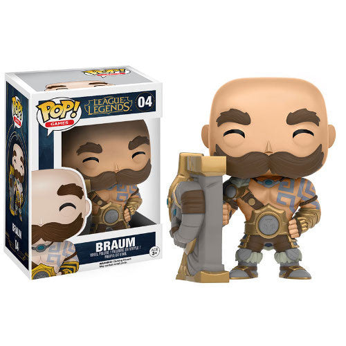 League of Legends Pop! Vinyl Figure Braum