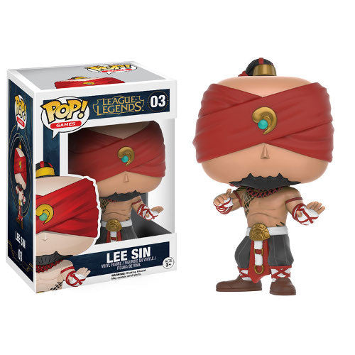 League of Legends Pop! Vinyl Figure Lee Sin - Fugitive Toys