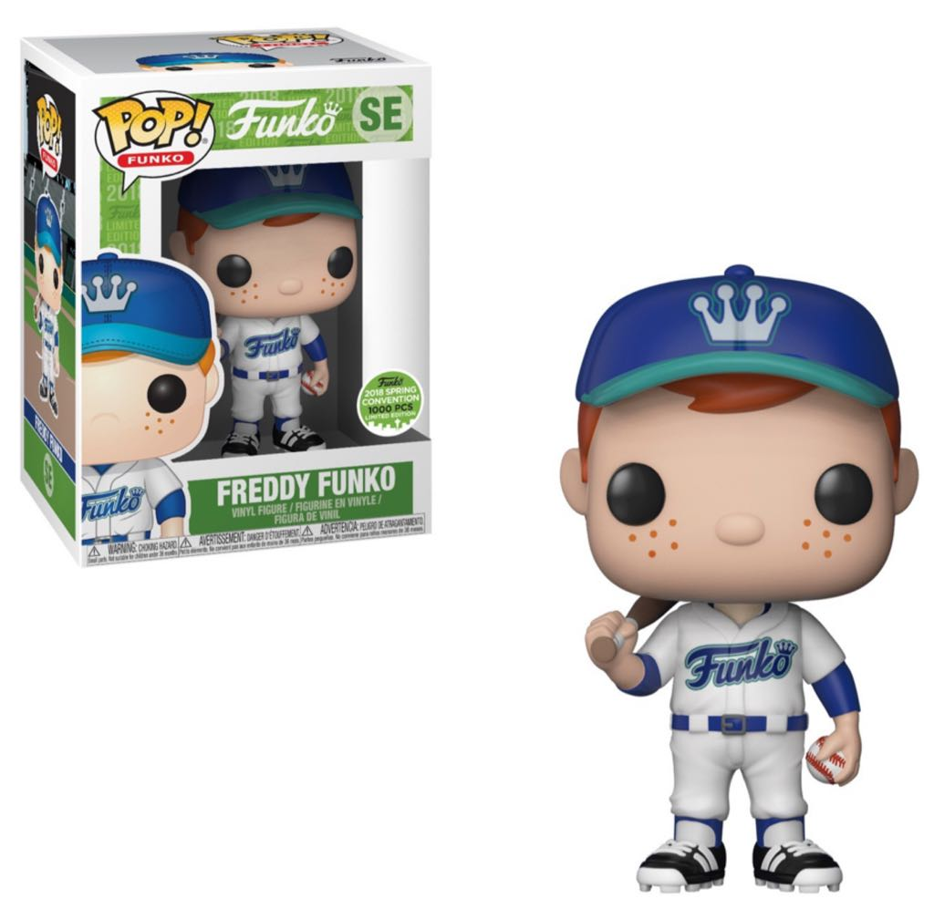 Freddy Funko Pop! Vinyl Figure Baseball (White) (LE1000) [SE]