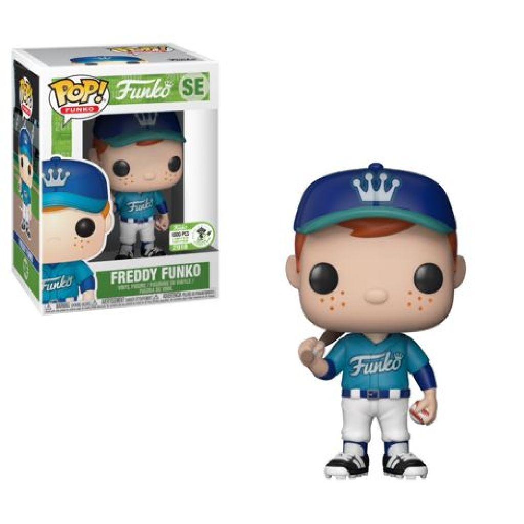 Freddy Funko Pop! Vinyl Figure Baseball (Teal) (LE1000) [SE]