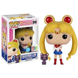 Sailor Moon Pop! Vinyl Figure Sailor Moon (w/ Luna) (Glitter) [89]