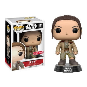 Star Wars Pop! Vinyl Figure Rey (w/ Jacket) [161] - Fugitive Toys
