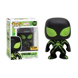 Spider-Man Pop! Vinyl Figures Glow in the Dark Spider-Man in Stealth Suit [195]