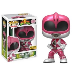 Power Rangers Pop! Vinyl Figures Metallic Action Pose Pink Ranger [407]