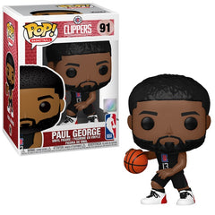 NBA Pop! Vinyl Figure Paul George Alternate Jersey (LA Clippers) [91] - Fugitive Toys