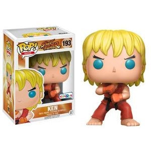 Street Fighter Pop! Vinyl Figures Special Attack Ken [193]