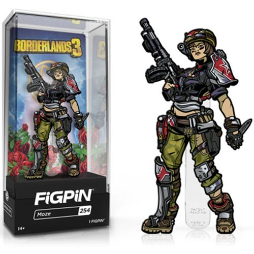 Borderlands 3: FiGPiN Enamel Pin Moze [254]