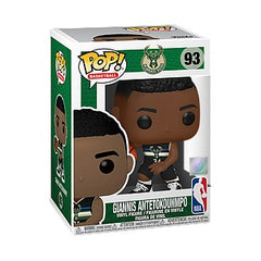 NBA Pop! Vinyl Figure Giannis Antetokounmpo Alternate Jersey (Bucks) [93] - Fugitive Toys