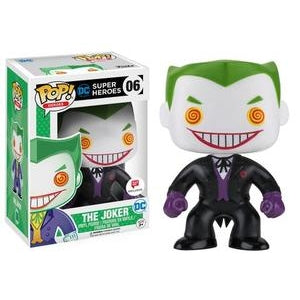 DC Super Heroes Pop! Vinyl Figures Black Suit The Joker [6] - Fugitive Toys