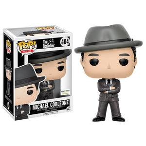 The Godfather Pop! Vinyl Figures Gray Suit Hat Michael Corleone [404]