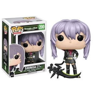 Seraph of the End Pop! Vinyl Figure Shinoa with Scythe [200]