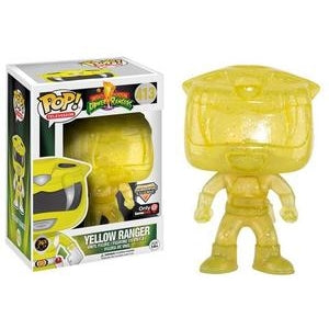 Power Rangers Pop! Vinyl Figures Morphing Yellow Ranger [413] - Fugitive Toys