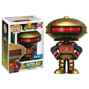 Power Rangers Pop! Vinyl Figures Alpha 5 [408] - Fugitive Toys