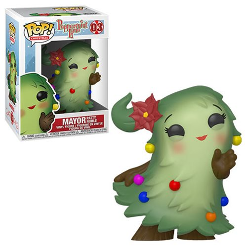 Christmas Pop! Vinyl Figure Peppermint Lane Mayor Patty Noble [03]