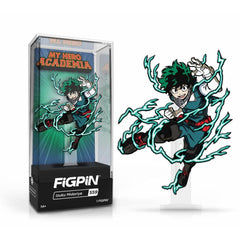 My Hero Academia: FiGPiN Enamel Pin Izuku Midoriya (Action Pose) [559]