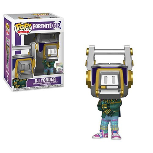 Fortnite Pop! Vinyl Figure DJ Yonder [512]